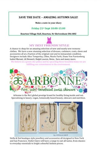 Save the date | Bourton Parish Council